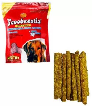 scoobee Dog Chicken Munchies Sticks,500 G Chicken Dog Chew (500 g, Pack of 1) Chicken Dog Treat