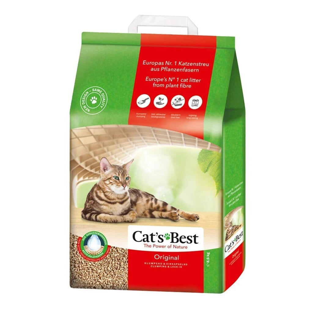 Cats Best Cat Litter - Tom and Pluto