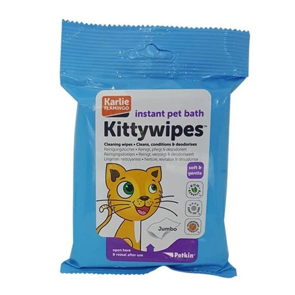 Petkin Kitty Wipes 15Pc