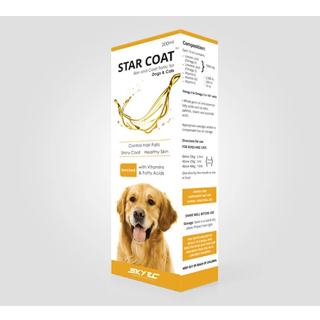 SkyEc Starcoat Tonic for Dogs & Cats