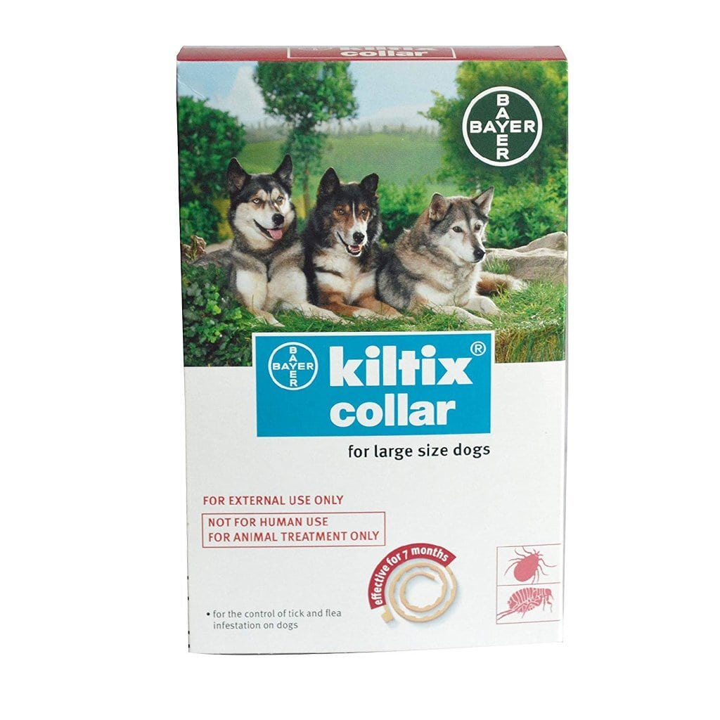 Bayer Kiltix Collar Large Dog - Tom and Pluto