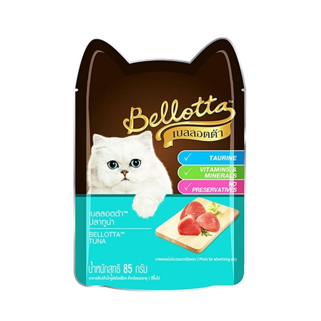 Bellotta Tuna 85G (Pack of 12) - Tom and Pluto