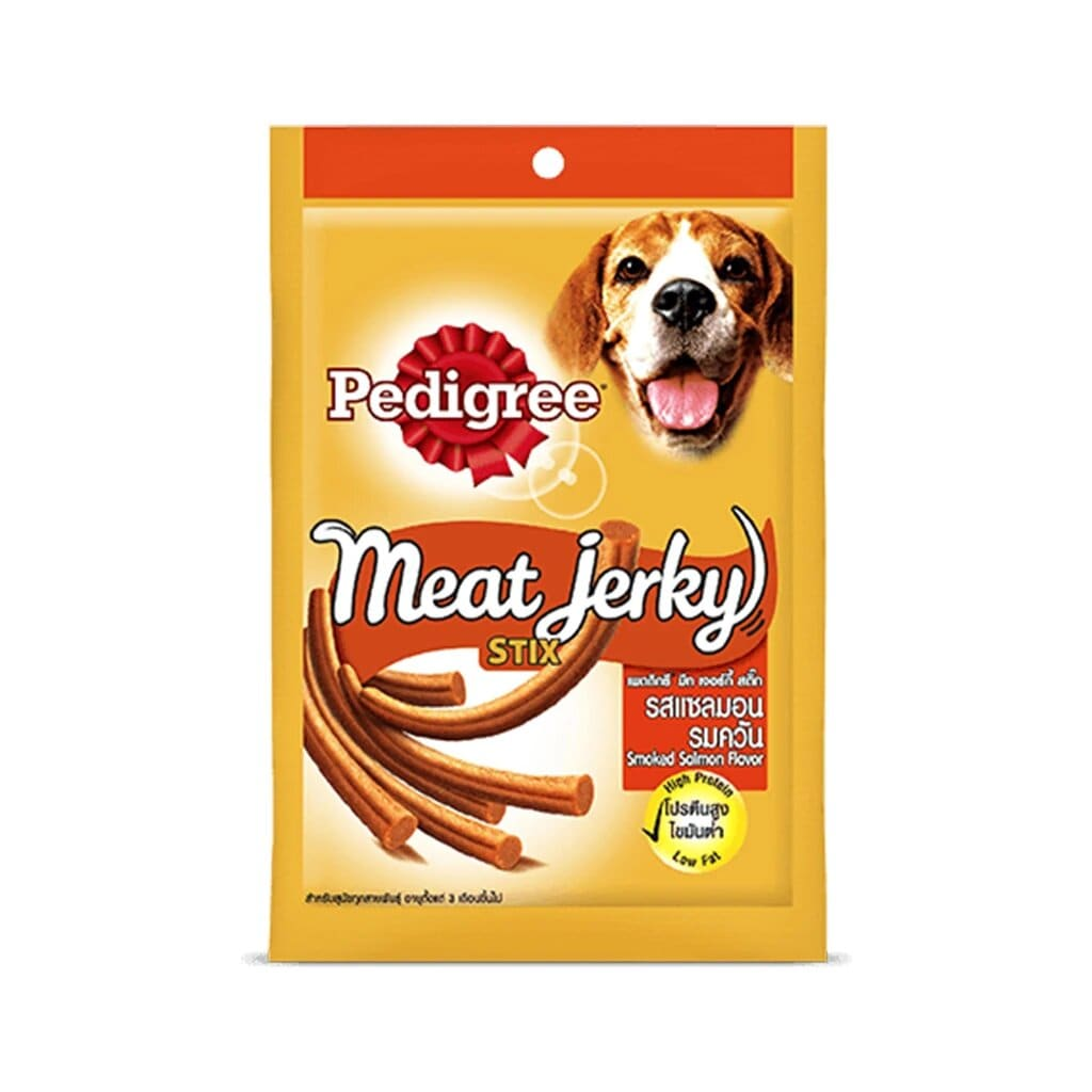Pedigree Meat Jerky Smoked Salmon Flavour 60G