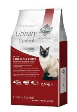 Dibaq Urinary Control Chicken & Corn 100% Natural Cat Food 2.5kg - Tom and Pluto