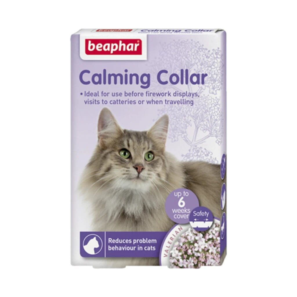 Beaphar Cat Calming Collar - Tom and Pluto