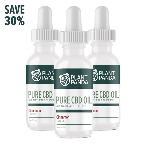 Plant Panda Pure CBD Oil - Special Offer