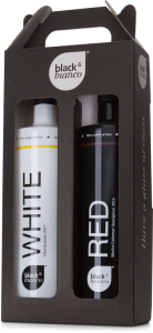 Black & Bianco Giftset 1x White & 1x Red (0,75L)