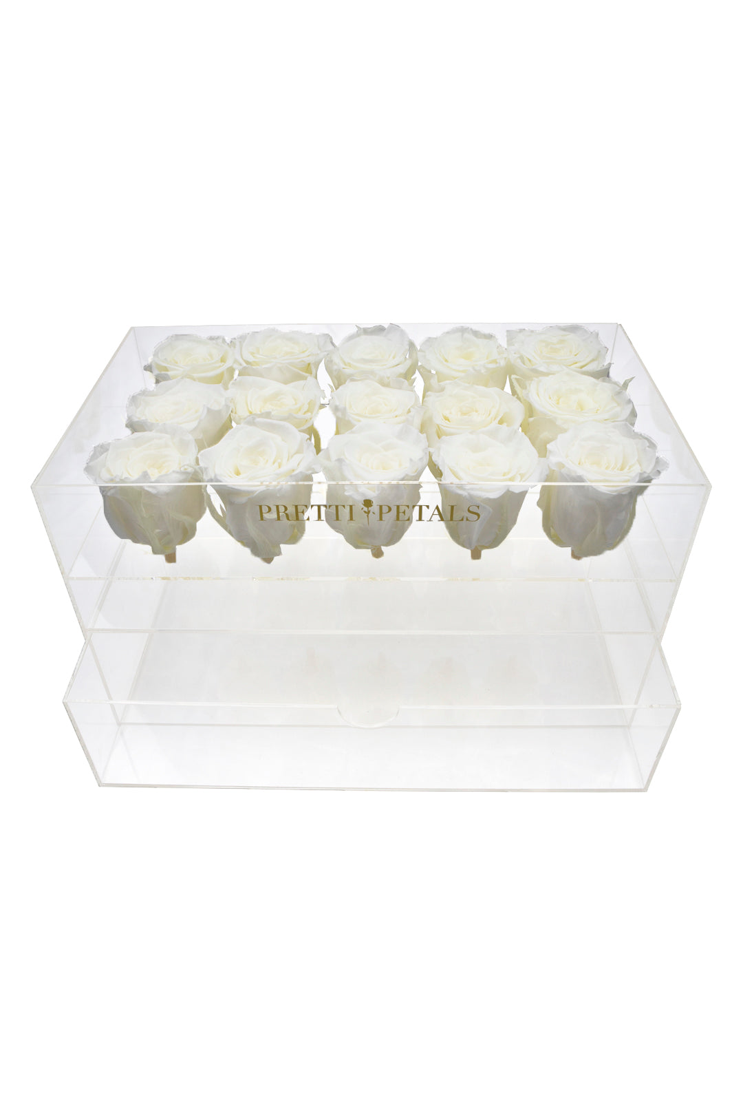 Fifteen Rose Claire Jewelry Box