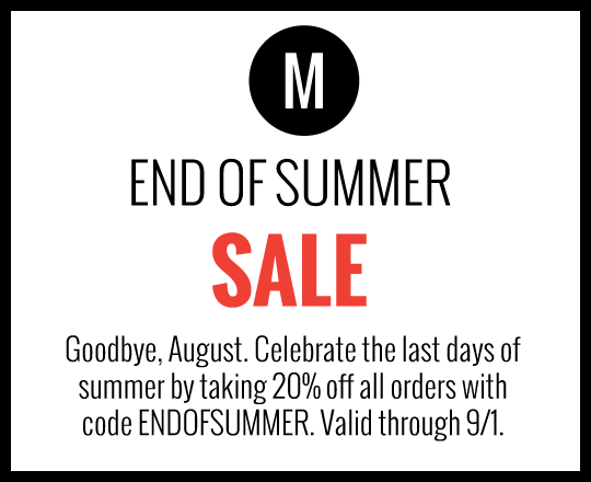 Goodbye Summer Sale