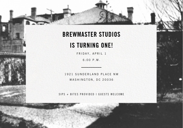 Brewmaster Studios is Turning One!