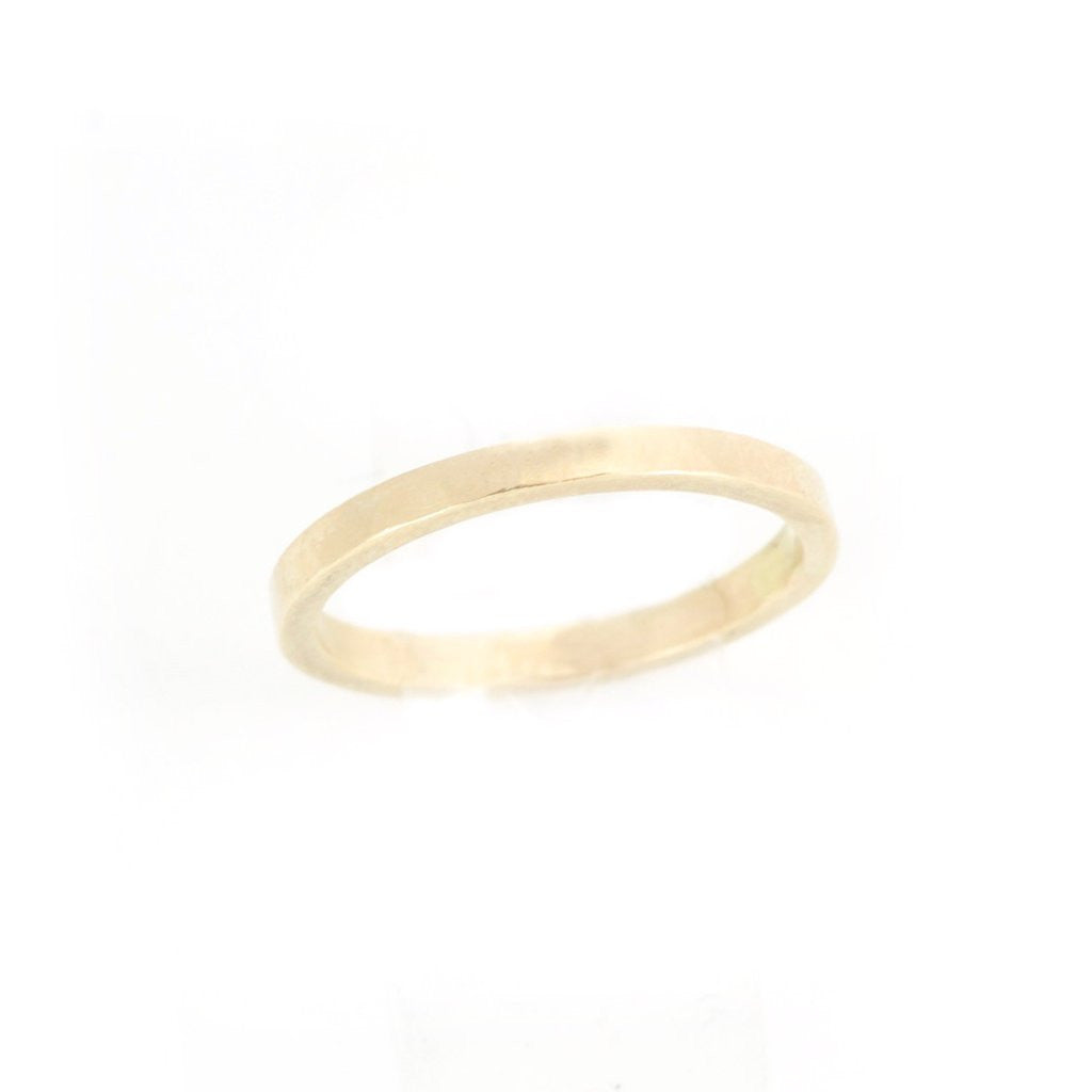 2mm Wedding Band - Yellow Gold