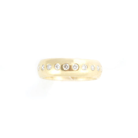 6mm Diamond Band