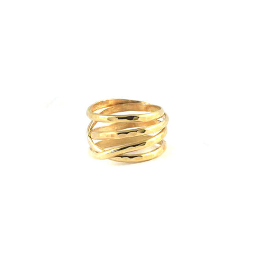14k Gold Infinity Ring
