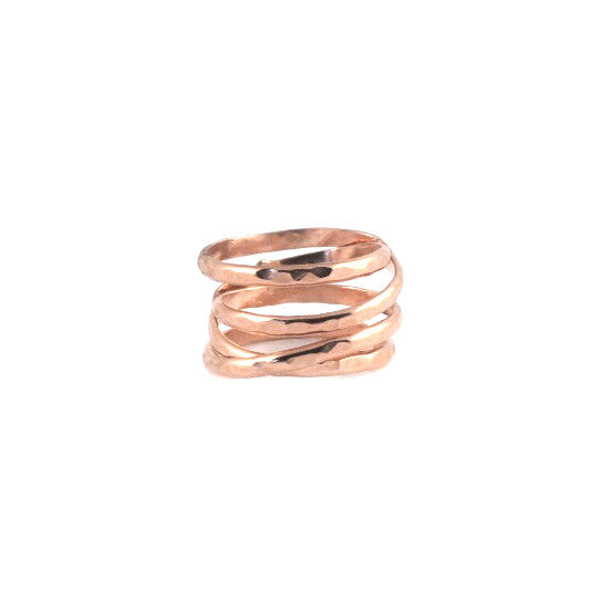 14k Rose Goldfill Infinity Ring