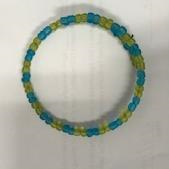 Blue and Yellow bracelet