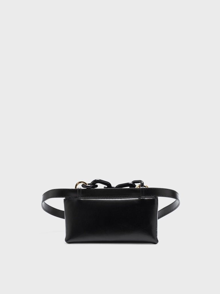 LISA MINI PLAIN BLACK