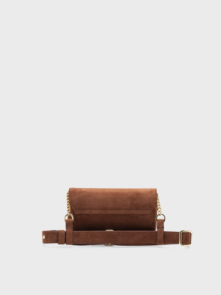 JULIETTA SMALL PLAIN SUEDE WOODY