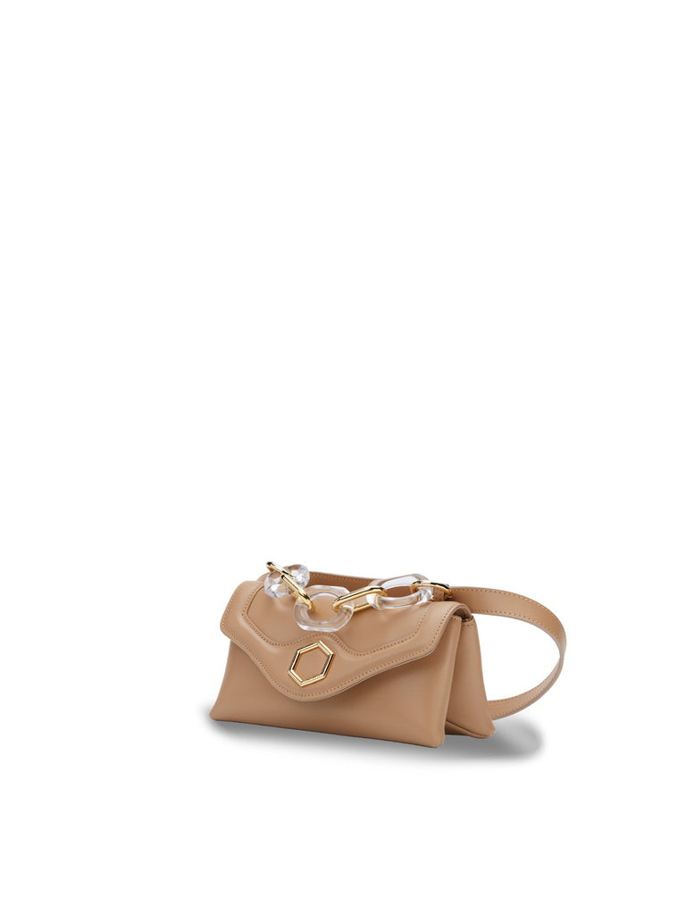 SS21 LISA MINI PLAIN SAND