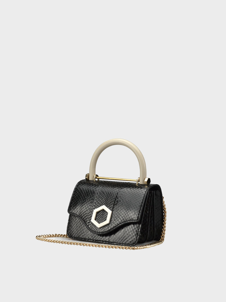 FW20 TIFFANY SMALL SNAKE IVORY EDITION BLACK
