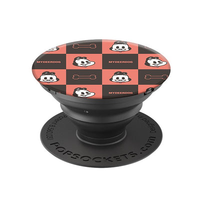 MYDEERDOG - Plaid 狗與鹿 - 格子趣, PopSockets