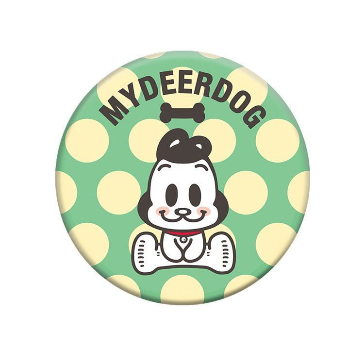 MYDEERDOG - Green Dot 狗與鹿 - 綠圓點, PopSockets