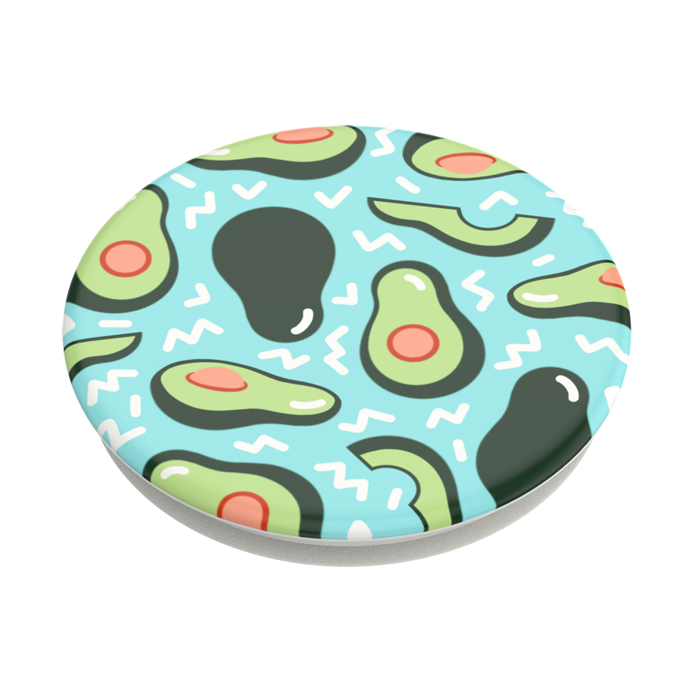Avocado Party Blue 酪梨派對 <可替換泡泡帽>, PopSockets