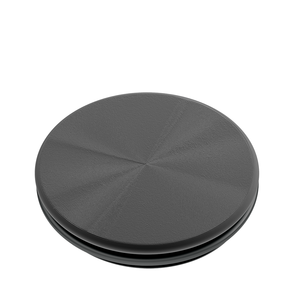 Backspin Aluminum Black	轉不停暗黑 <可替換泡泡帽>, PopSockets