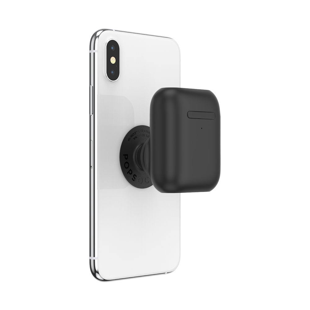 Pop Airpods Holder Black 霧黑 <泡泡騷耳機套>, PopSockets