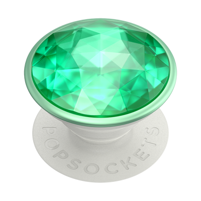 Disco Crystal Mint 迪斯可薄荷綠 <可替換泡泡帽>, PopSockets