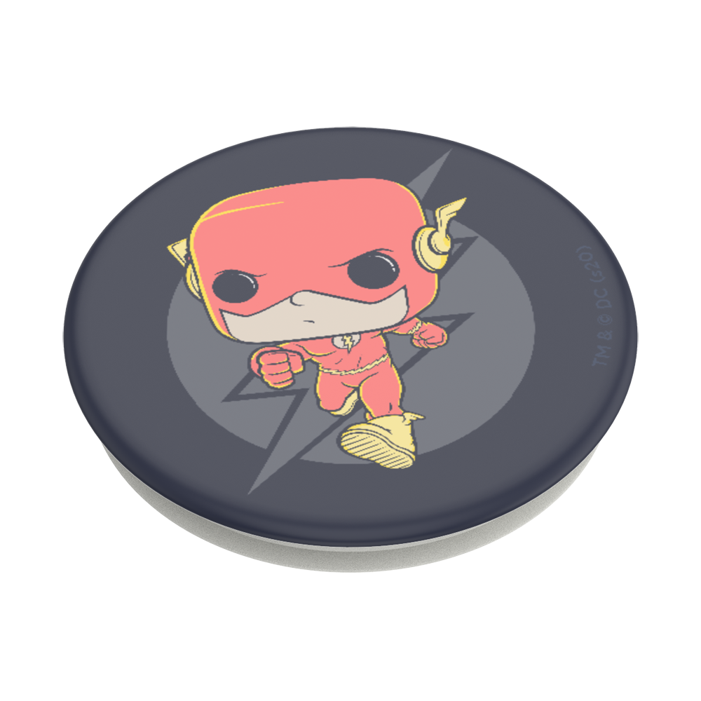 Funko Pop! The Flash Q版閃電俠 <可替換泡泡帽>, PopSockets