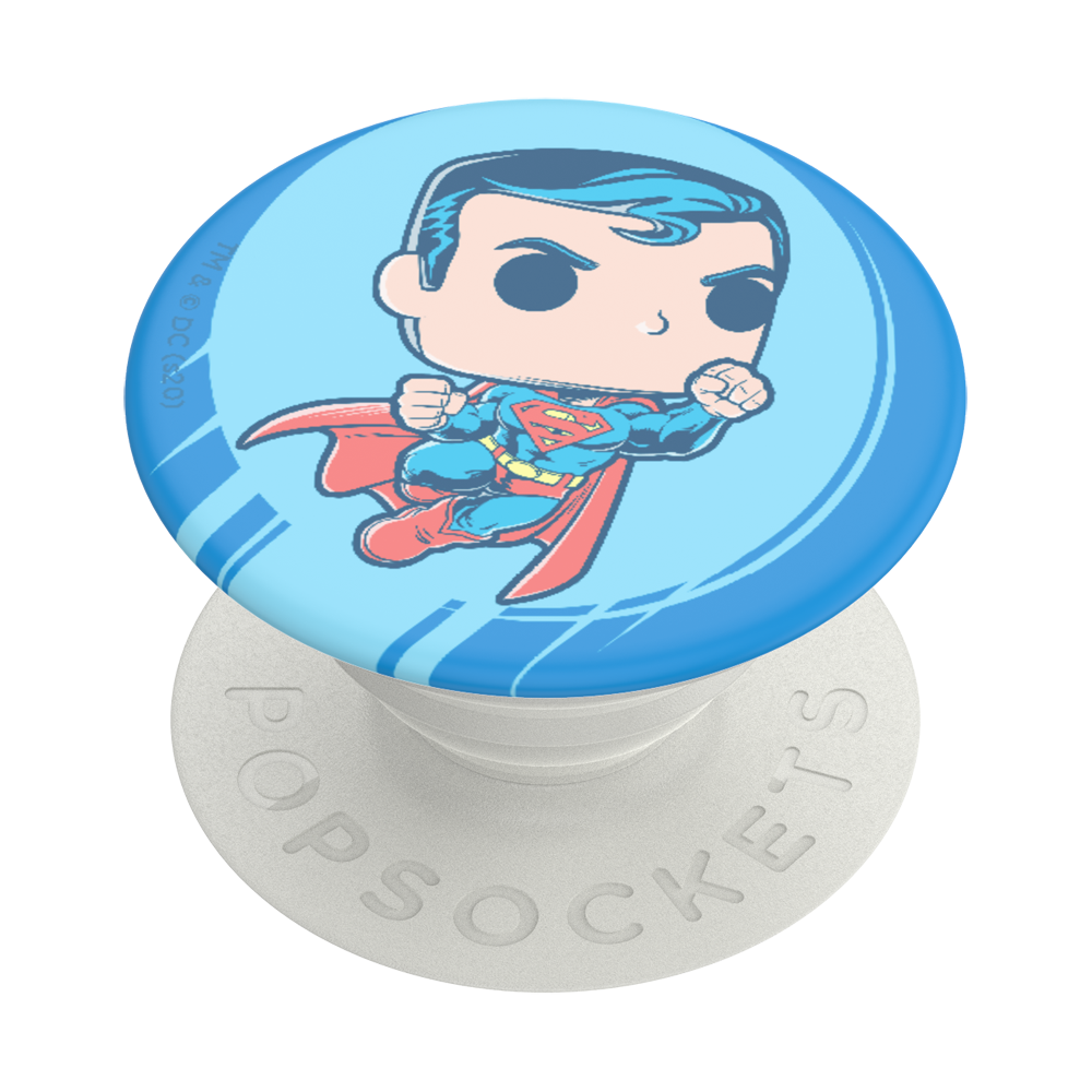 Funko Pop! Superman Q版超人 <可替換泡泡帽>