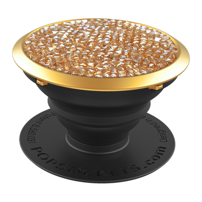 Swarovski Golden Shadow Crystal 施華洛世奇 - 奢華金, PopSockets
