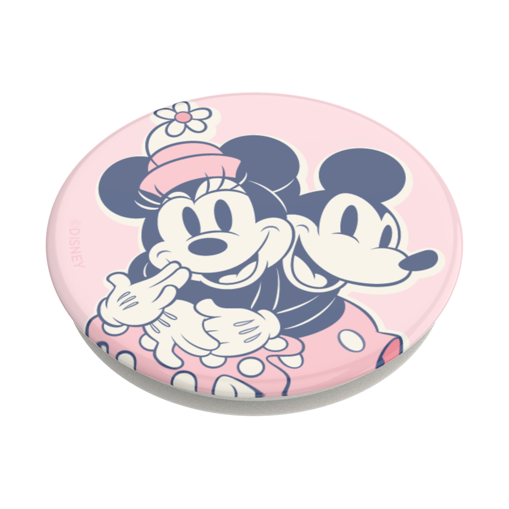MICKEY & MINNIE PINK 粉紅米奇米妮<可替換泡泡帽>