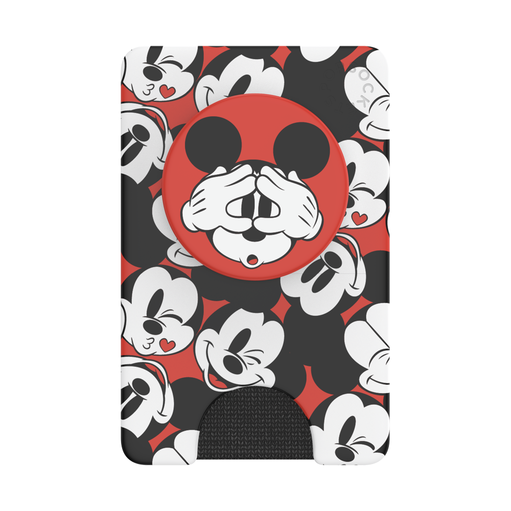 MICKEY FACE PATTERN 滿滿米奇<泡泡騷卡夾 Plus>