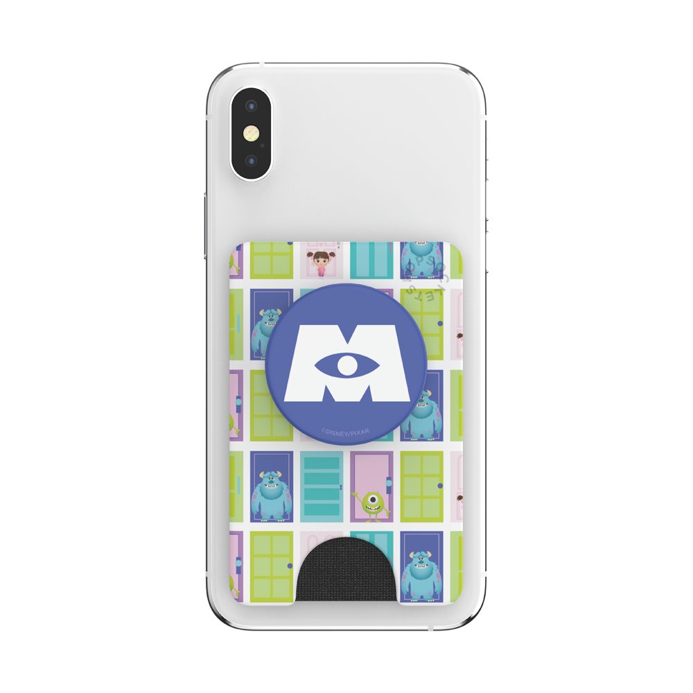 MONSTERS INC 怪獸電力公司 <泡泡騷卡夾 Plus>, PopSockets