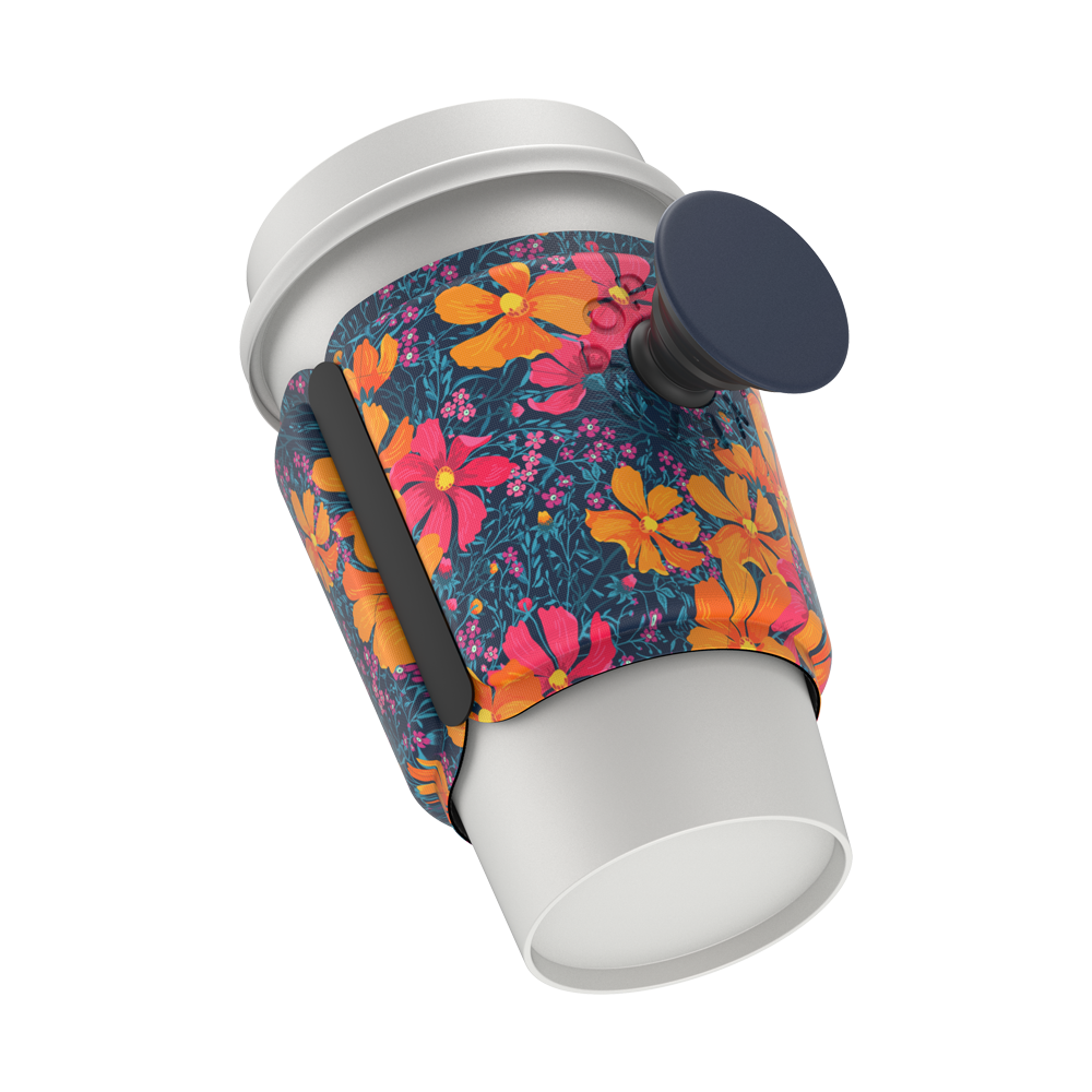 CUP SLEEVE Flower Power 花語能量 <泡泡騷杯套>, PopSockets