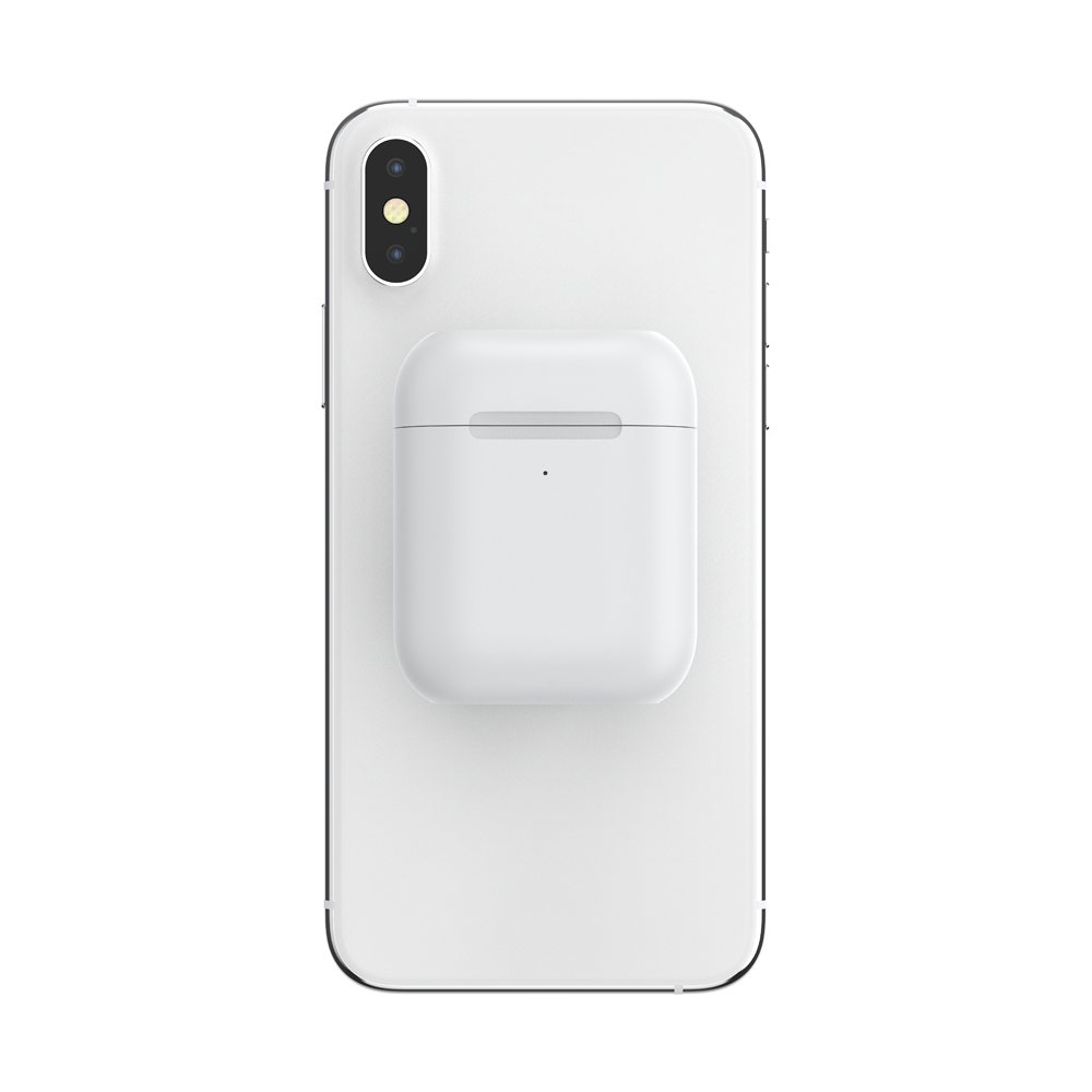 Pop Airpods Holder White 白色 <泡泡騷耳機套>, PopSockets