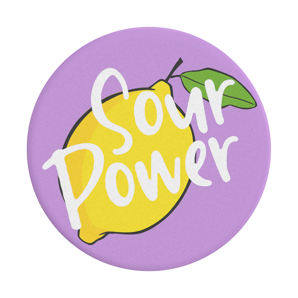 酸的爆發力 Sour Power, PopSockets