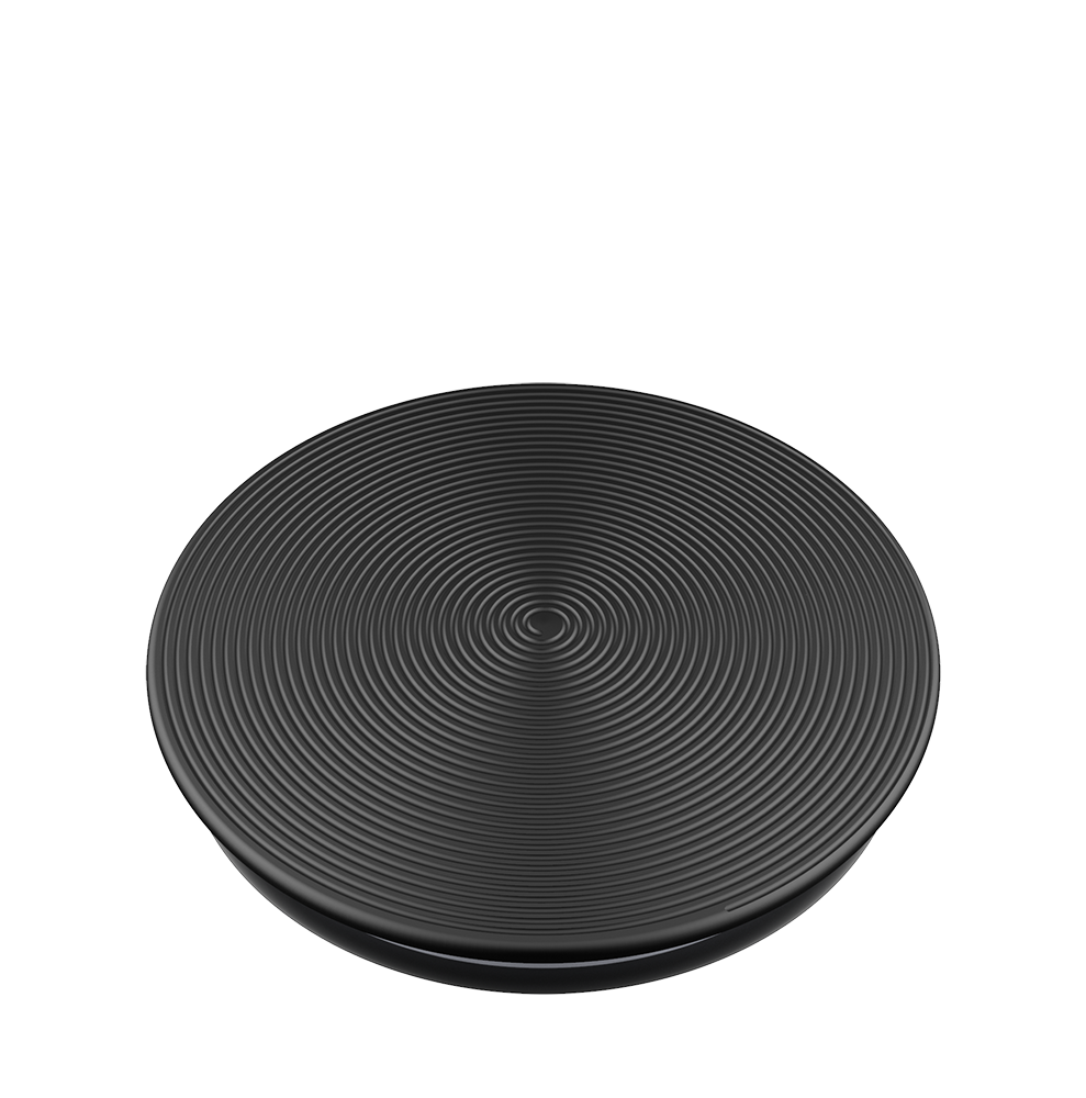 Twist Black Aluminum 炫黑螺旋 <可替換泡泡帽>, PopSockets