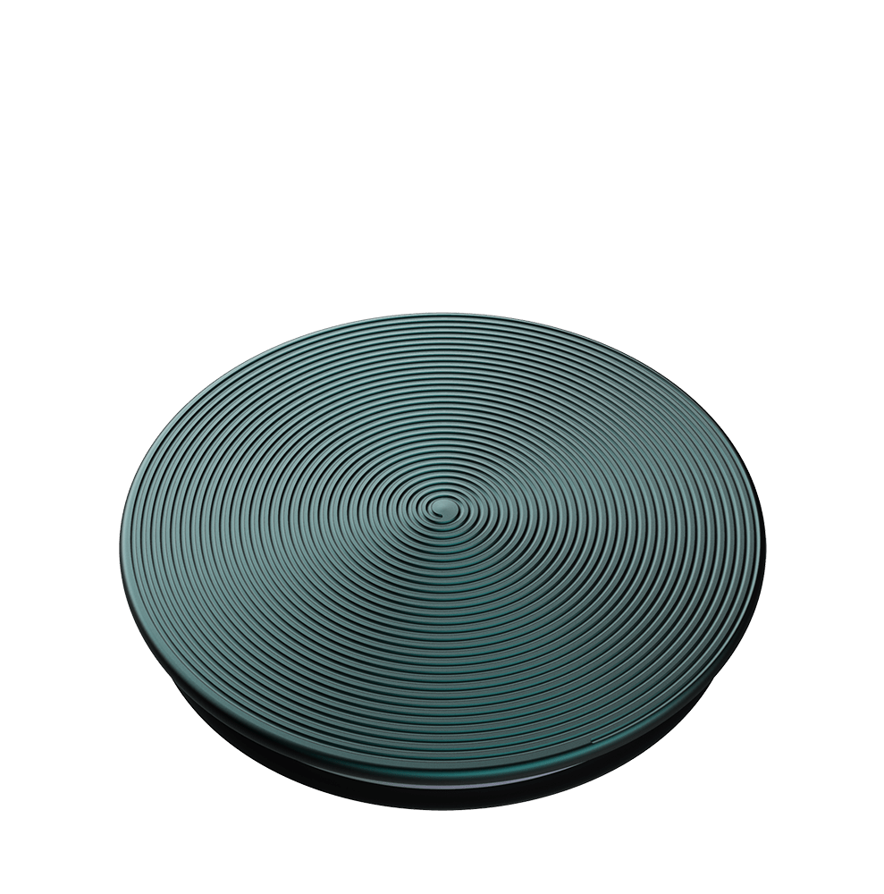 Twist Ocean Green Aluminum 海洋綠螺旋 <可替換泡泡帽>, PopSockets