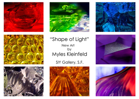 SHAPE OF LIGHT: Intersection of Light in Life abstract Photography by Myles Kleinfeld