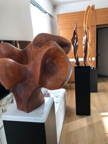 INFERNO2020: Wood Sculpture Works by Ruth Waters