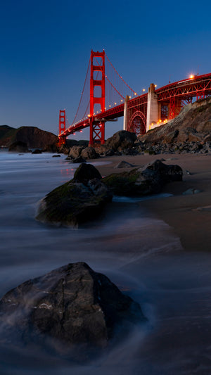 Open image in slideshow, Blue Hour Bridge