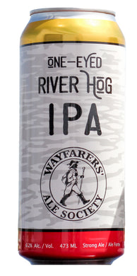 473 ml (16 oz) One-Eyed River Hog IPA Cans
