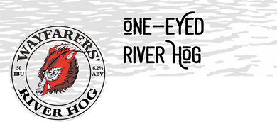 One-Eyed River Hog IPA Keg