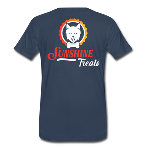 Men's Premium Organic T-Shirt - navy