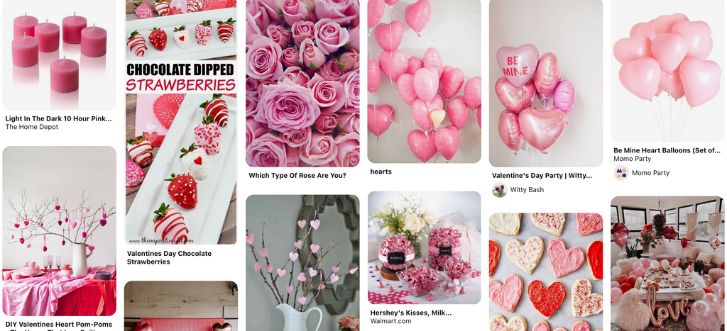 Pretty in Pink Valentine's Day Home Decorations