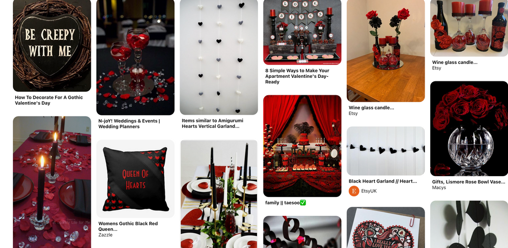 Queen of Hearts theme Pinterest Board Valentine's Day Decorations