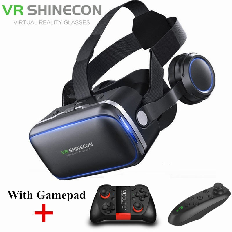 3D VR Glasses with Gamepad
