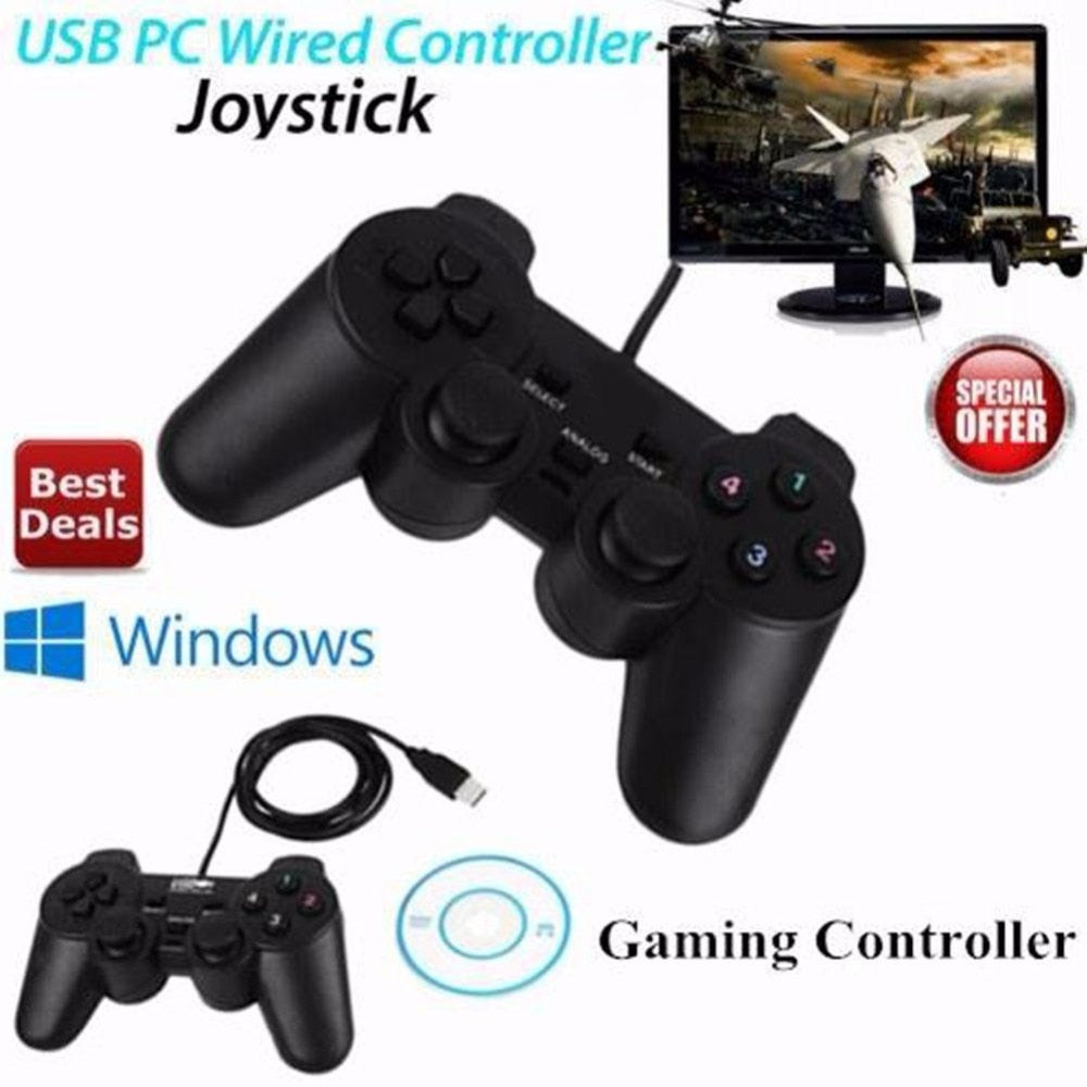 2pcs Wired Gamepad USB